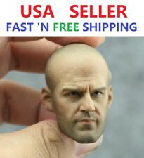 Custom Jason Statham 1/6 scale  Head Sculpt for 12'' male Figure Phicen