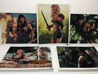 "8""×10"" Photo Lot 5 Xena Warrior Princess Season Two 2 Panzer Merchandising Corp"