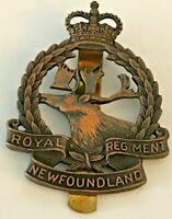 The Royal Newfoundland Regiment QC Cap Badge - Canada