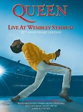 Queen - Live At Wembley Stadium - 25th Anniversary Edition Dvd - 2 Dvd Set - New