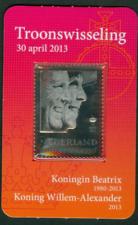 Nederland NVPH 2878 Troonswisseling Zilveren zegel Aangetekend 2013 Postfris