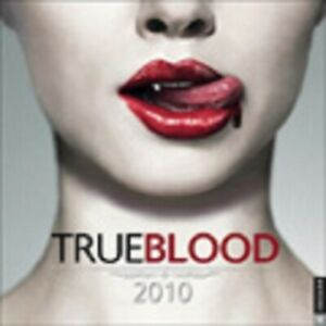 True Blood Wall Calendar 2010, 2011, 2012, or 2015  (new, factory sealed)
