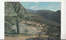 Bf30497 delfi il teatro e il tempio d apolo greece front/back image