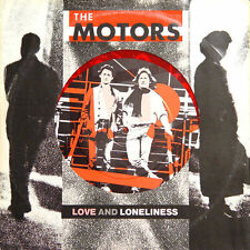 The MOTORS Love And Loneliness Virgin VS 263 1980 Vinyle Rouge 25 Cm/10 Inches