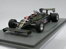 Spark 1:43 Nigel Mansell Lotus 87 Courage Practice British GP F1 1981 S5351 new