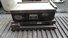 """MACHINIST LATHE MILL 10 3/4"""" by 6"""" Magna Sine Magnetic Grinding Chuck on Sine"""