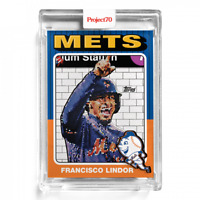 Topps Project70 Card 160 - 1975 Francisco Lindor by Jeff Staple Project 70 Mets