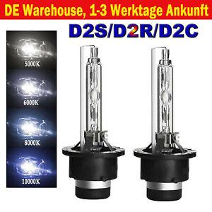 Paar D2S Xenon Brenner D2R D2C 5000K 6000K 8000K 10000K 35W Lampen Licht 85122
