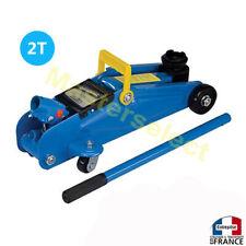 Cric Roulant Hydraulique Capacité 2T De Levage Pour Mécanique auto Pneu Rouleur