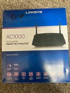 LinkSys AC1000 EA5800 Dual-Band Smart WiFi Router - New/Open Box Cond.