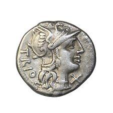 Roman Republic Lucretius Trio 136 Bc Silver Denarius Ancient Coin Sydenham.450