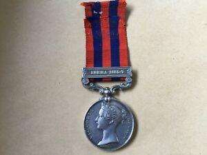 Original FS India General Service Medal 1854-95 with clasp to Serjeant (89)