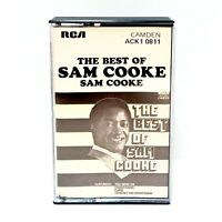 Vintage 1975 SAM COOKE The Best Of Sam Cooke Cassette Tape RCA Records