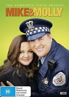 Mike & Molly : Season 5 (DVD, 2016, 3-Disc Set)  Brand new, Genuine & Sealed D51