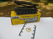 SOLIDO CHAR PT76 LANCE FUSEE 2 GUIDES LATERAUX RAMPE DE LANCEMENT REPRO RESINE