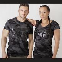 Paffen Sport Black Camo Man T-Shirt. Gr. S - XXL. Sport, Boxen, Fitness,
