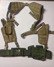 Tactical Underam Gun Pistol Shoulder Holster With Magazine Pouch + Extras