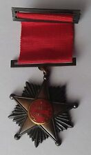 Chile Medal Army 10 years of 11 de Septiembre Government Pinochet
