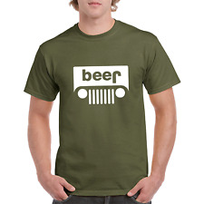 Funny Beer t shirt Parody Drinking Humor Mens Graphic T-Shirt Tee