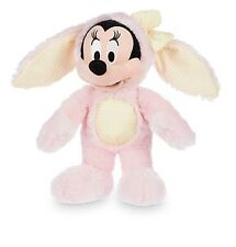Disney Store Deluxe Minnie Mouse BIG Plush Pink Easter Bunny Toy Doll Cute Soft