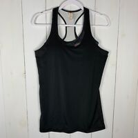 Lucy Womens Black Size Small Built In Bra Athletic Running Workout Tank Top