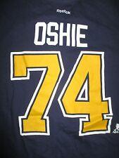 Reebok T.J. OSHIE No. 74 ST LOUIS BLUES (SM) T-Shirt Jersey