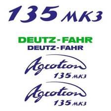 Deutz-Fahr Agrotron 135 MK3 tractor decal aufkleber sticker