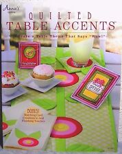 """Quilted Table Accents"" Quilted Table Runners/Placemat/Coasters & Paper Cards+"