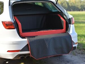 Autohundebett BETTEX  Dual Transportbett Hundebett fürs Auto Autoschondecke