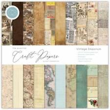 """New Craft Consortium 12"""" x 12"""" Paper Pad Craft Papers - Vintage Emporium"""