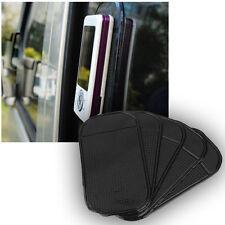 5Pcs Car Grip Pad Non-Slip Sticky Anti-Slide Dash Cell Phone Holder Black Mat