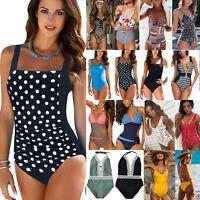 Women Sexy One-piece Swimsuit Swimwear Push Up Monokini Swim Bikini Bathing Suit