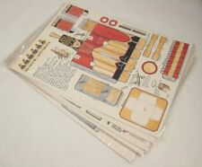 Set of 7 Vintage Museum of Automata 1992 Paper Model Kits NOS New Old Stock