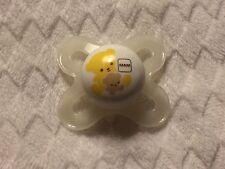 Reborn Doll Magnet Pacifier Preemie Newborn Size MAM Teddy Bear