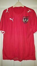 Mens Football Shirt - Austria - National Team - Home 2008-2009 - Puma - Red