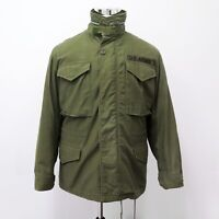 VINTAGE US ARMY M-65 M65 FIELD JACKET SMALL SHORT 1966 VIETNAM 1st Pattern