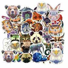 35Pcs/pack Geometric Animals Diary DIY Label Stickers Notebook Sticker Decal.AU.