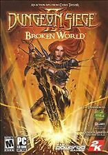 DUNGEON SIEGE II: BROKEN WORLD (PC, 2006) CD-ROM NEW & FACTORY SEALED