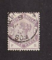 Great Britain stamp #102, used, Queen Victoria ` SCV $100.00