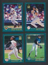 2001 Topps Complete Baseball Card Set of 790   Ichiro RC, Ripken, Jeter, Griffey