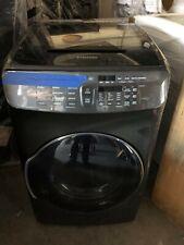 Samsung 7.5 cu. ft. FlexDry Gas Dryer in Black Stainless Steel Dvg55M9600V