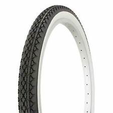 "Kenda K123 Street Bike Tire // 26x1.75"" // Black/Whitewall // Wire"