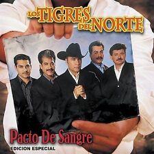 Los Tigres Del Norte Pacto De Sangre CD