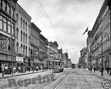 Photograph Toledo Ohio Vintage Summit Street 1908c  11x14