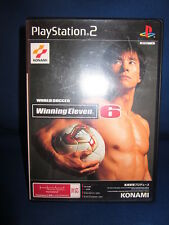 Sony Playstation PS2 Winning Eleven 6 Complete Japan Systems Only