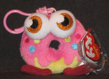 TY KEY CLIPS BEANIE BABY - ODDIE the SWEET RINGY THINGY (MOSHI MONSTER)