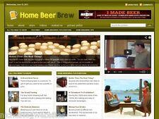 Home Brew / Beer Making Niche Wordpress Blog Website For Sale!