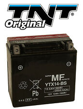 Batterie YTX14-BS 12V Moto Scooter Quad 12Ah NEUF ATX14-BS FTX14-BS GTX14-BS