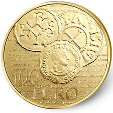 Pièce 100 euros or 1/2 oz - Semeuse - BE - 2014