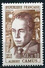 STAMP / TIMBRE FRANCE NEUF LUXE ** N° 1514 ** CELEBRITE ALBERT CAMUS